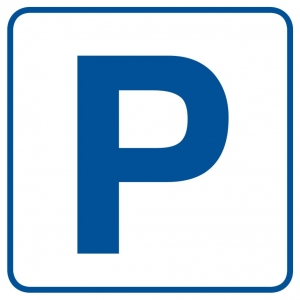 Tabliczka - Piktogram - Parking